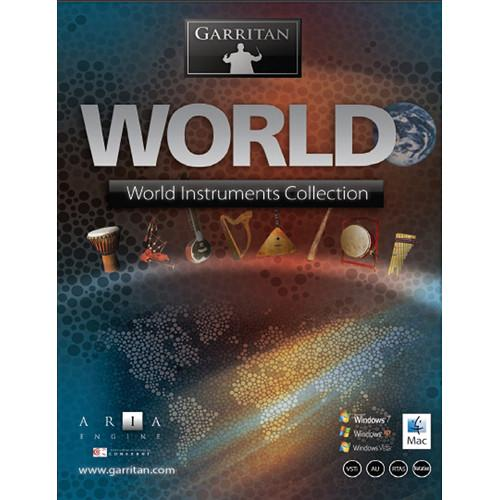 GARRITAN World Instruments - Virtual Instrument (Boxed) GPOWDLR