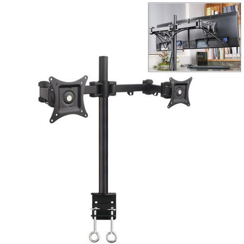 Halter Dual-Monitor Desk Clamp Stand for 27