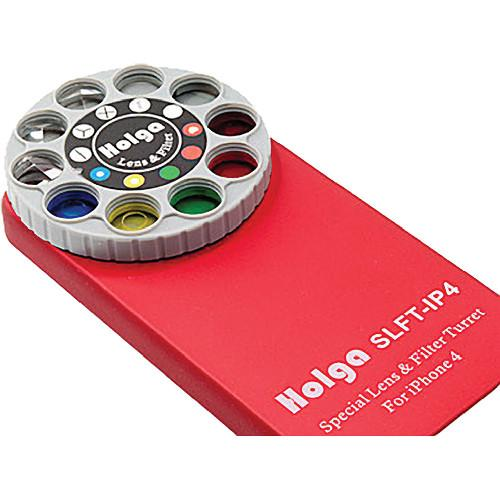Holga Lens Filter and Case Kit for iPhone 4/4S (Red) 400141