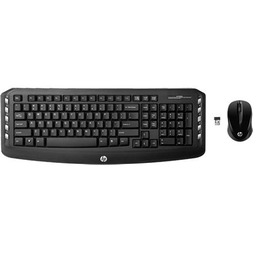 HP Wireless Classic Desktop Keyboard with Mouse LV290AA#ABA