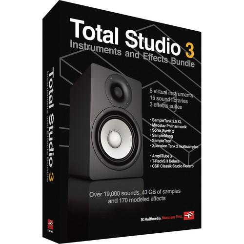 IK Multimedia Download: Total Studio 3 IK-BOXTB3-DID-IN