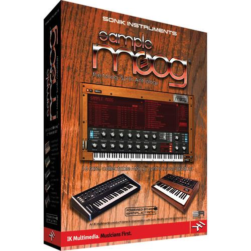 IK Multimedia Sample Moog: The Complete Moog SM-PLUG-DID-IN