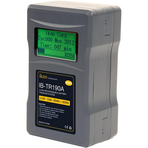 ikan IB-TR190A Professional Battery with Anton Bauer IB-TR190A