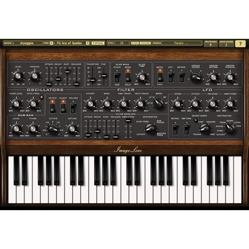 Image-Line Sawer Vintage Synth Modeling Plug-In 11-31122