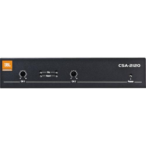 JBL CSA2120 2-Channel Installed Sound Power Amplifier CSA2120