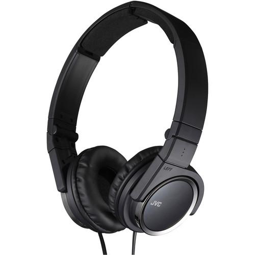 JVC HA-S400-B On-Ear Headphones (Black) HA-S400-B