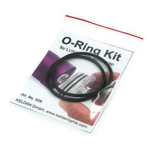 Keldan O-Ring Kit for Luna Underwater Video Lights KEL-528