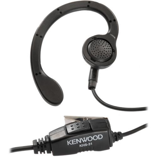 Kenwood KHS-31 C-Ring Ear Hanger with Push to Talk and KHS-31