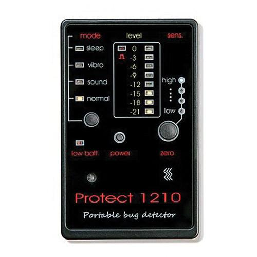 KJB Security Products Credit Card Size Bug Detector DD1210