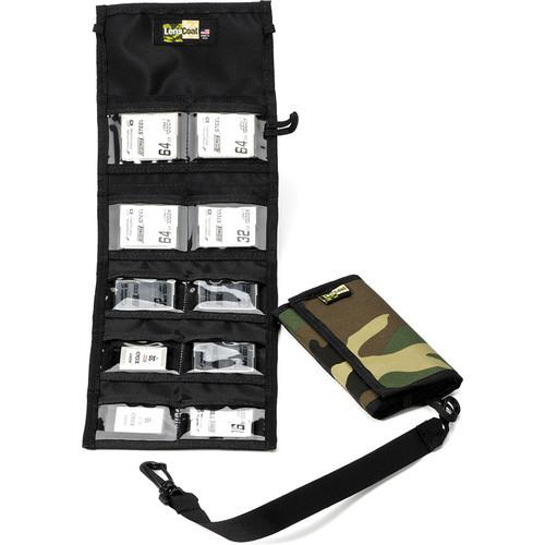 LensCoat Memory Card Wallet CF10 (Forest Green Camo) MWCF10FG