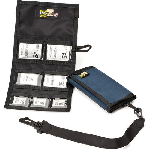LensCoat Memory Card Wallet Combo 43 (Navy) MWC43NA
