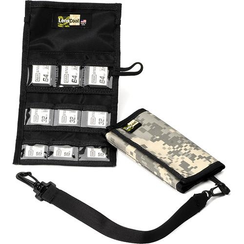 LensCoat Memory Card Wallet SD9 (Digital Camo) MWSD9DC