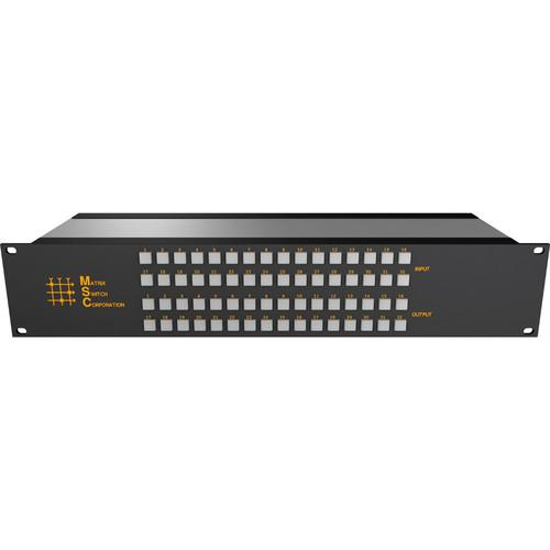 Matrix Switch 24 x 8 2RU 3G/HD/SD-SDI Video Router MSC-2HD2408L