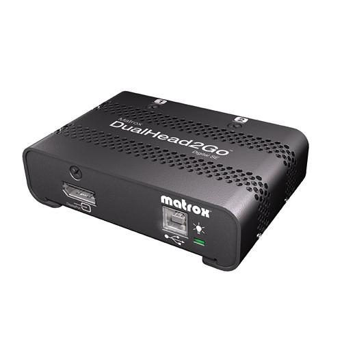 Matrox DualHead2Go Digital SE Graphics eXpansion D2G-DP2D-IF