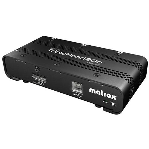 Matrox TripleHead2Go Digital SE External Adapter T2G-DP3D-IF