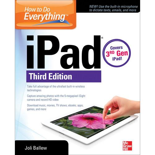 McGraw-Hill Book: How to Do Everything: iPad, 3rd 9780071804516