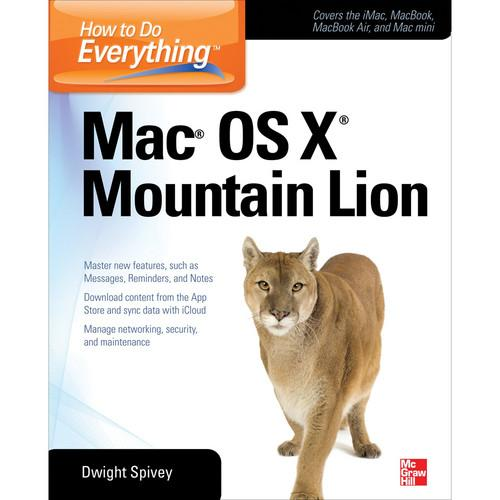 McGraw-Hill Book: How to Do Everything Mac OS X 9780071804400