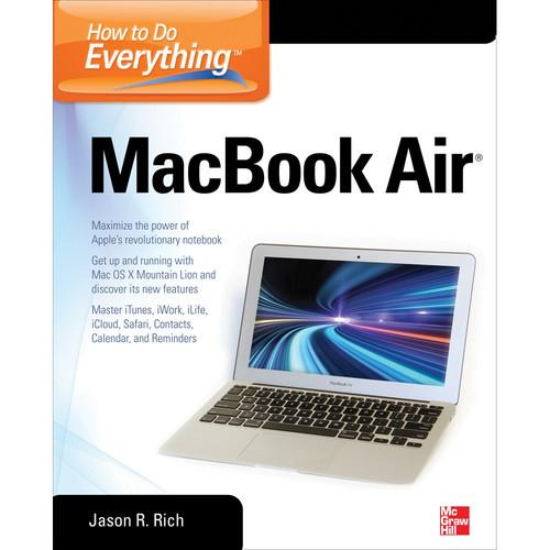 McGraw-Hill Book: How to Do Everything MacBook Air 9780071802499