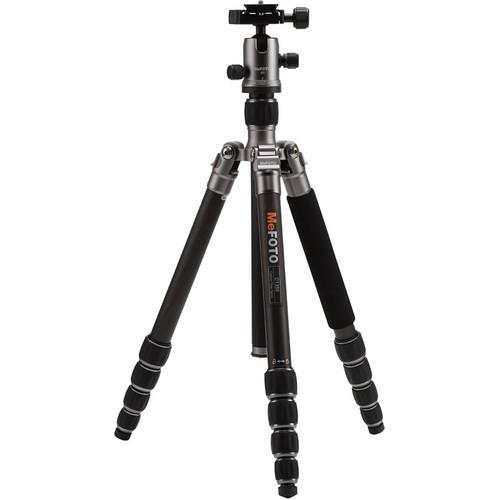 MeFOTO RoadTrip Carbon Fiber Travel Tripod Kit C1350Q1T