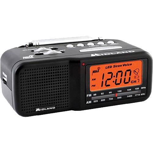 Midland WR11 Alarm Clock Weather Alert Radio WR11