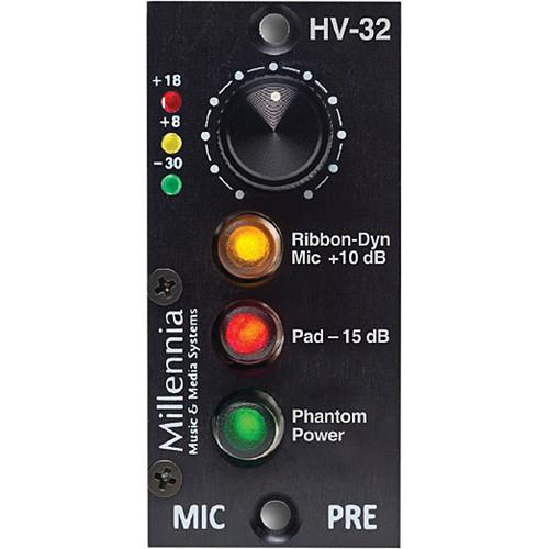 Millennia HV-32 Single-Channel 200 Series Microphone HV-32