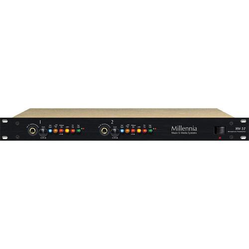 Millennia HV-37 Two-Channel Microphone Preamplifier Rack HV-37