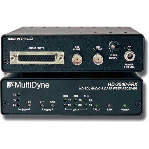 MultiDyne HD-3500-FRX-ST Multi-Rate Serial Video HD-3500-FRX-ST
