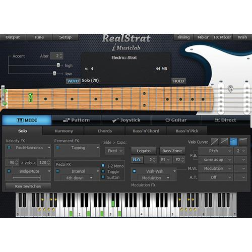 MusicLab  RealStrat 3 Virtual Instrument 12-41275