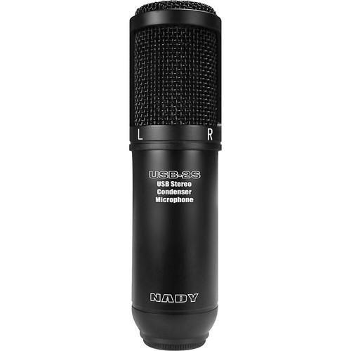 Nady  USB-2S Stereo Condenser Microphone USB-2S