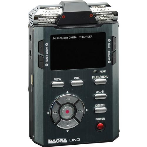 Nagra LINO - Professional Handheld PCM/MP3 Recorder LINO