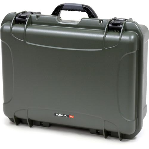 Nanuk  940 Large Series Case (Olive) 940-0006
