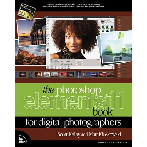 New Riders Book: The Photoshop Elements 11 Book 0321884833