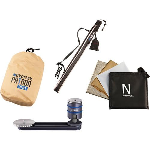 Novoflex PATRON Photo Umbrella Set (Sand) PATRON-SET-SAN
