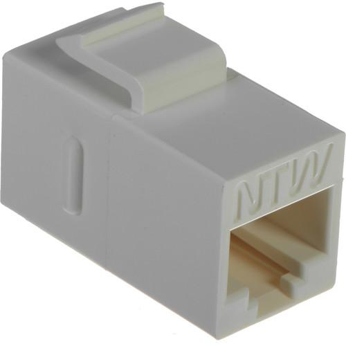 NTW Cat 6A Keystone Coupler (White) 3KY-FF/C6S-WH