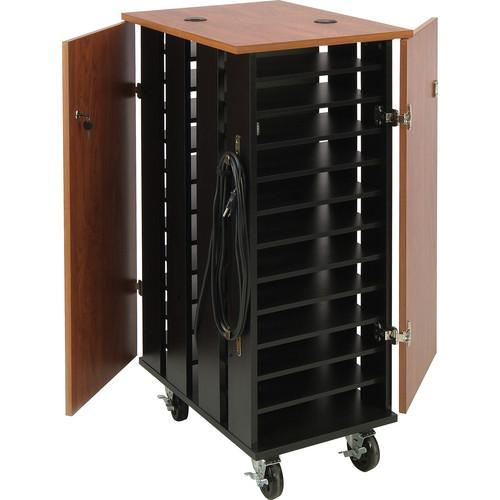 Oklahoma Sound TCSC Tablet Charging and Storage Cart TCSC