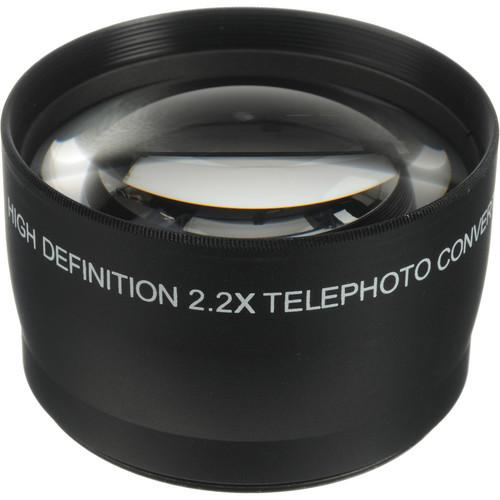 Opteka 2.2x 58mm High Definition II Telephoto Lens OPT22X58B