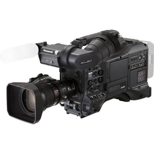 Panasonic AG-HPX370 Camcorder Kit with Porta Brace Body Armor