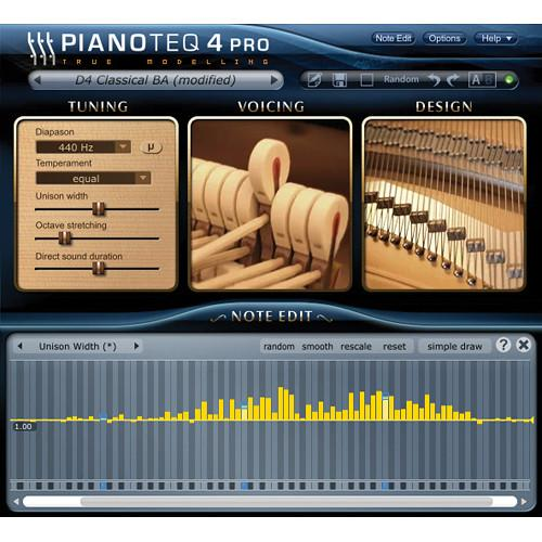Pianoteq Pianoteq Standard to 4 Pro Upgrade 12-41302