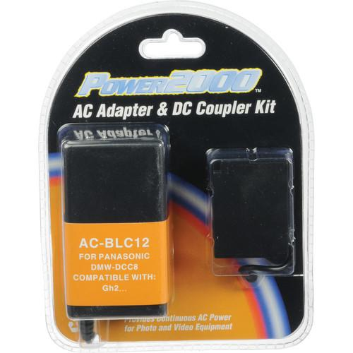 Power2000 AC-BLC12 AC Adapter and DC Coupler Kit AC-BLC12