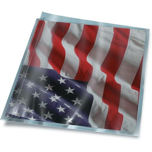 Print File FoldFlap Polyester Print/Negative Sleeves 075-0240