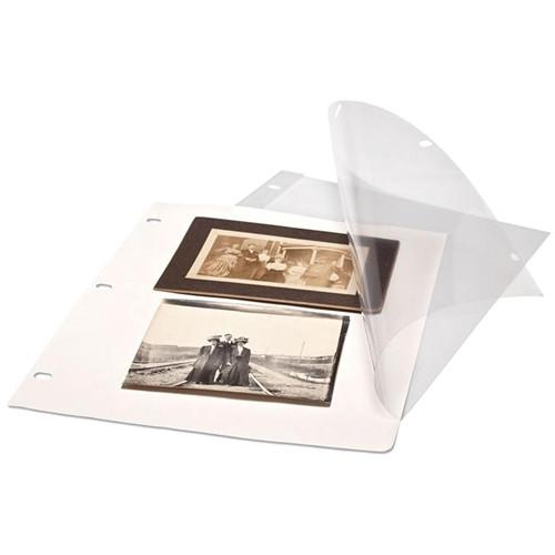 Print File Polyester Page Protectors with Paper Inserts 625-1020