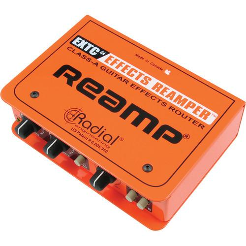 Radial Engineering EXTC-SA Guitar Effects Reamp R800 1420