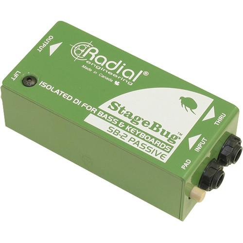Radial Engineering StageBug SB-2 Passive Direct Box R800 0120