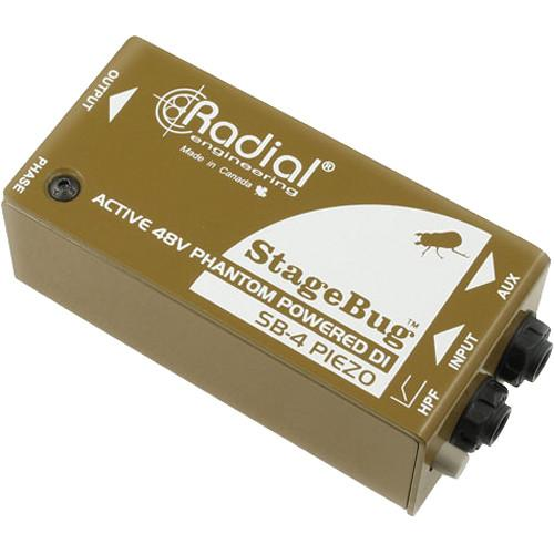 Radial Engineering StageBug SB-4 Piezo DI R800 0140