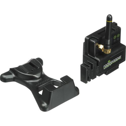 RadioPopper PX-RC Receiver with Canon Mounting Bracket PX-RC