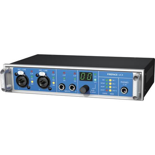 RME Fireface UCX - 36-Channel USB/FireWire Audio Interface UCX