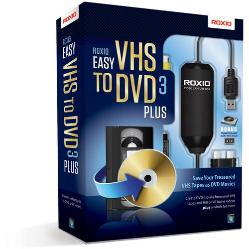 Roxio  Easy VHS to DVD 3 Plus 251000