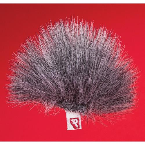 Rycote Single Gray Ristretto Lavalier Windjammer 065556