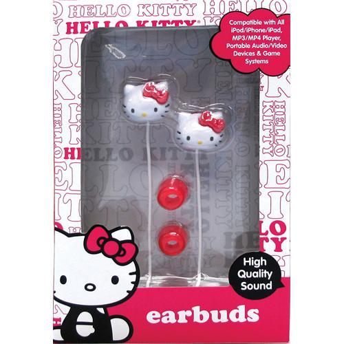 Sakar  Hello Kitty Molded Ear Buds HK-11309