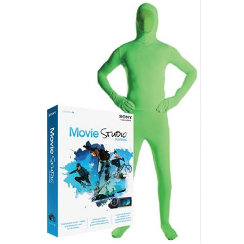 Savage Green Screen Video Suit with Sony Movie Studio VIDGSLG